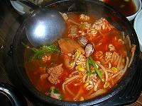 魚介類のスープ
