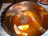 〆には冷麺