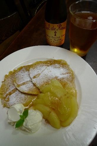 ジャガイモのパンケーキとシードル(甘口).jpg