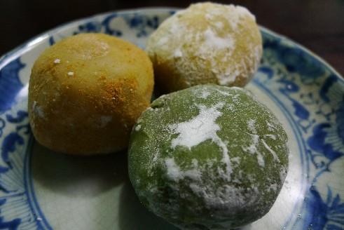 恵林寺東地蔵堂茶屋 餅3種.jpg