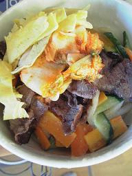 牛肉のからめ麺