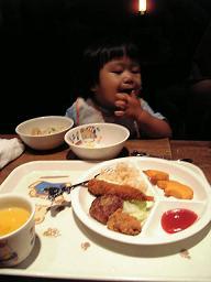 初 夜外食