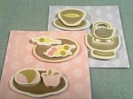 伊右衛門-春の飾り紙