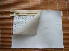 キャラメルポーチの作り方1