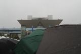 国際展示場-雨
