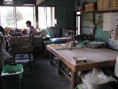 三島製麺所 (店内)