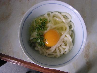 三島製麺所の釜玉