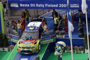 WRC2009 round9 フィンランド