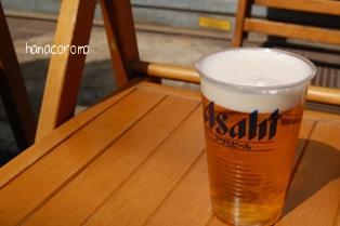 谷中で立ち飲みビール