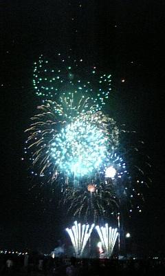 2007年8月18日多摩川花火大会 -3