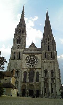 シャルトル大聖堂0