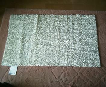バスルームマット 65×100cm ¥1900