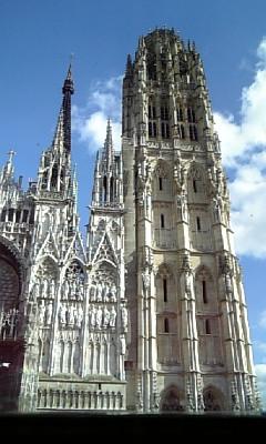 ルーアン大聖堂-右