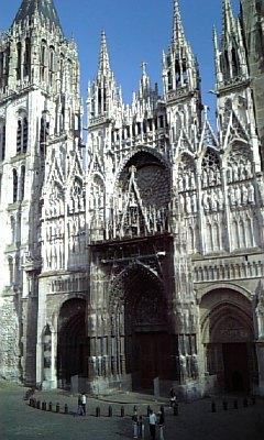 ルーアン大聖堂-真ん中
