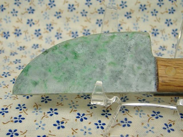 翡翠のナイフ?包丁?