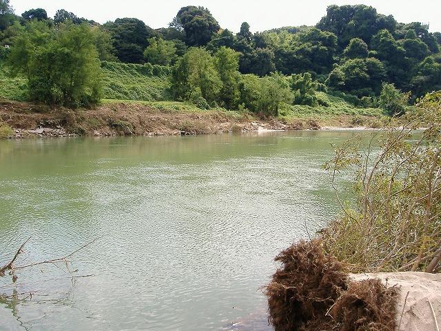 静けさを取り戻した庄内川