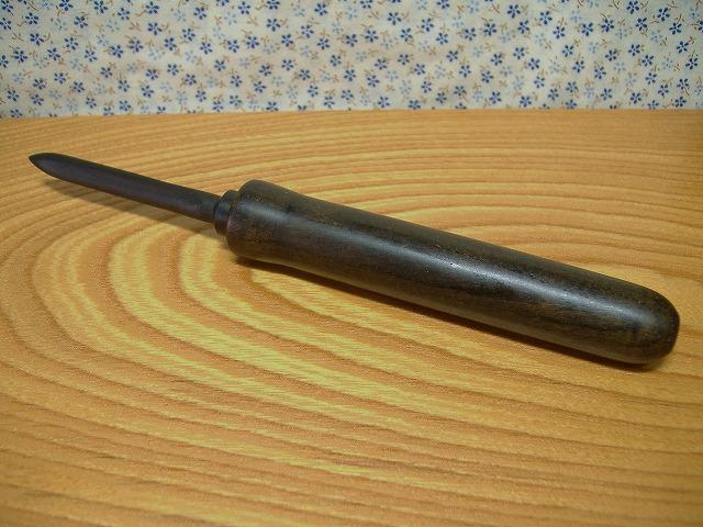 神代欅&アフリカ黒檀のペパーナイフ