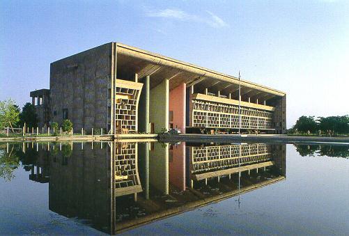 チャンディーガル高等法院.jpg インドカレーから始まってチャンディーガル|デザイナーズ家具・ブ