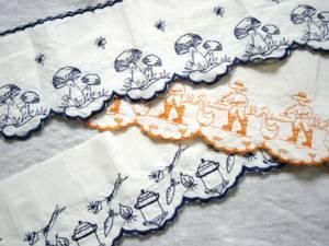 刺繍クロス