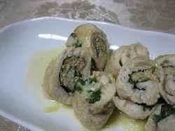 4/12鶏ササミの大葉チーズ明太ロール