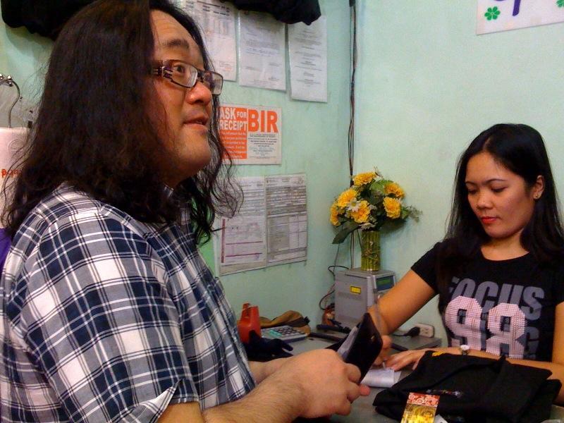 フィリピンが刺繍されたPOLOを買いました。.jpg