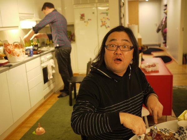 僕食べる人、ミッコ作る人。.JPG
