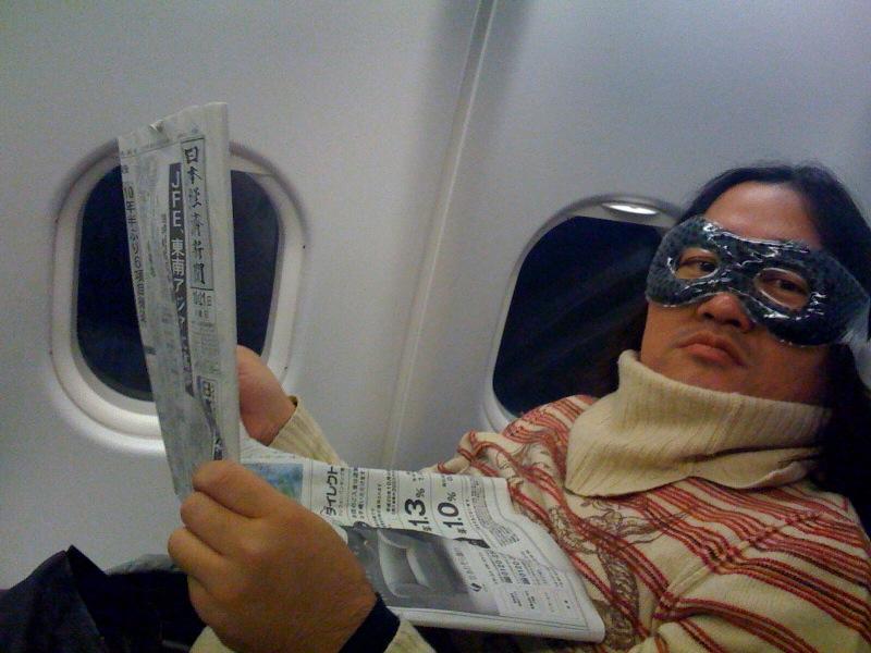 帰りの飛行機はラッキーにも快適なビジネスのお席でございましたぁ.jpg