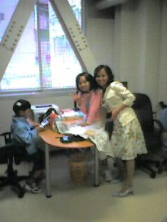 家族とともにオフィス