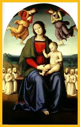 甘美なる聖母の画家ペルジーノ展...