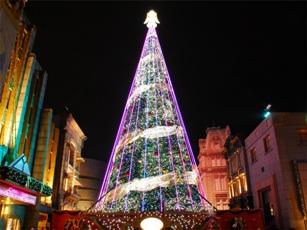 USJクリスマス夜景