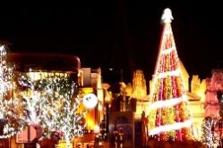 大阪ユニバーサルスタジオジャパンUSJクリスマスイルミネーション