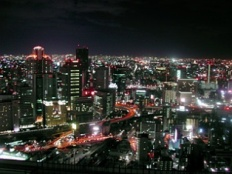 大阪新梅田シティクリスマスイルミネーション