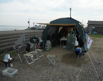 20110815(野潟キャンプ場)