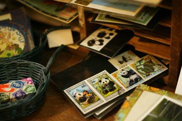パンダの切手