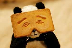 初笑いはパンダで