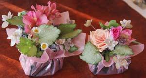 花束・ブーケ作り
