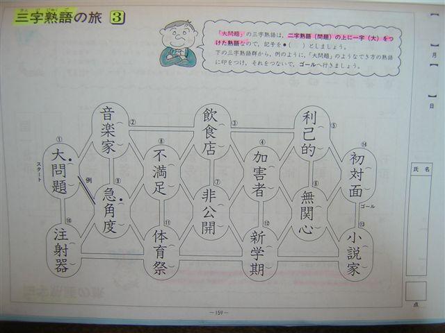 3字熟語(2)