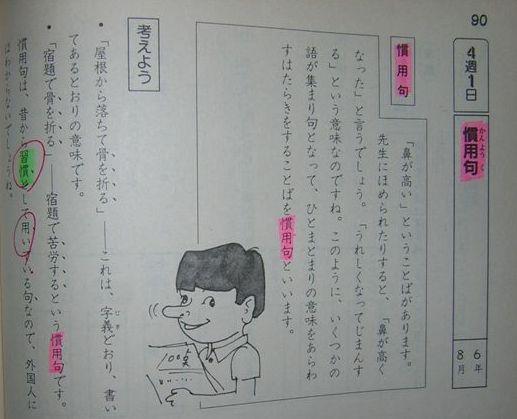 慣用句(2)