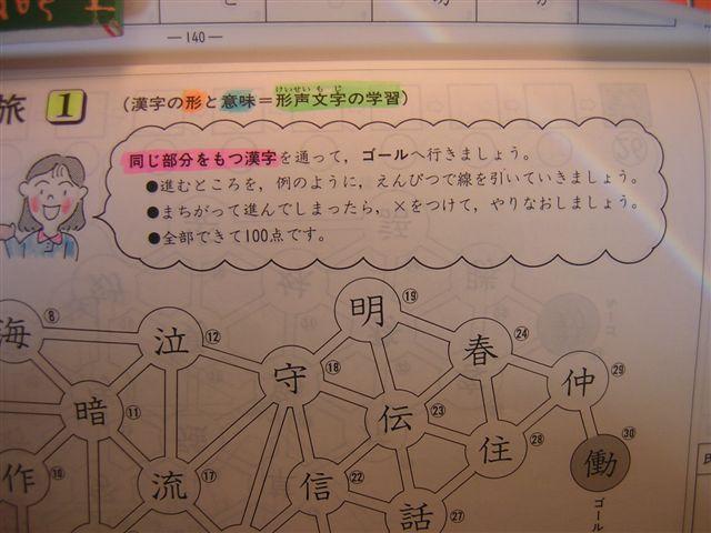 6年、漢字(1)先生の話の拡大