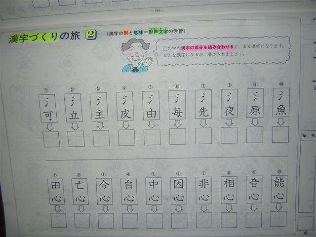 形成文字つくり(2)