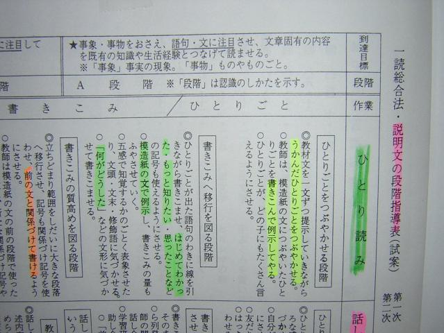 読解説明ぶん(2)