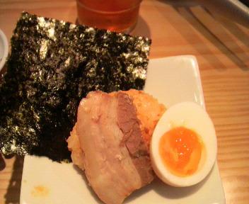一風堂 湘南 からか麺 具 2008.9.1