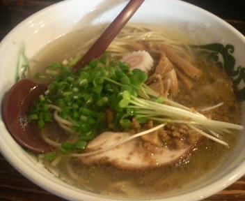 G麺7 塩ワンタン 2011.10.31