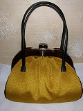 江戸小紋のバッグ