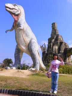 カブトガニ博物館・恐竜公園にて