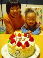 2007年クリスマスケーキ