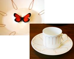 蝶が現れるカップ&ソーサー.jpg