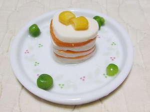 マロンちゃんケーキ