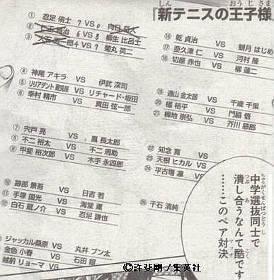 新テニスの王子様 シングルス選抜表.JPG