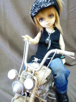颯のバイク2